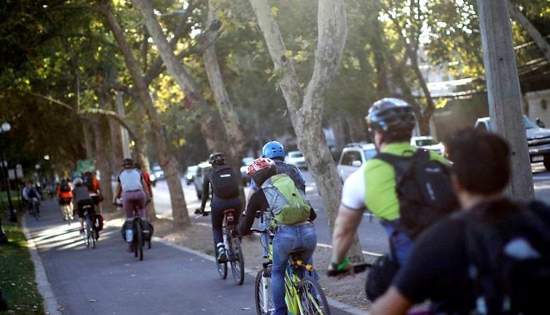Otro efecto Transantiago: aumentaron los ciclistas